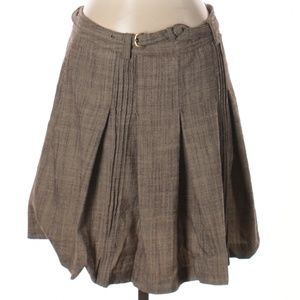 [a15-25] The Limited | pleated wool skirt